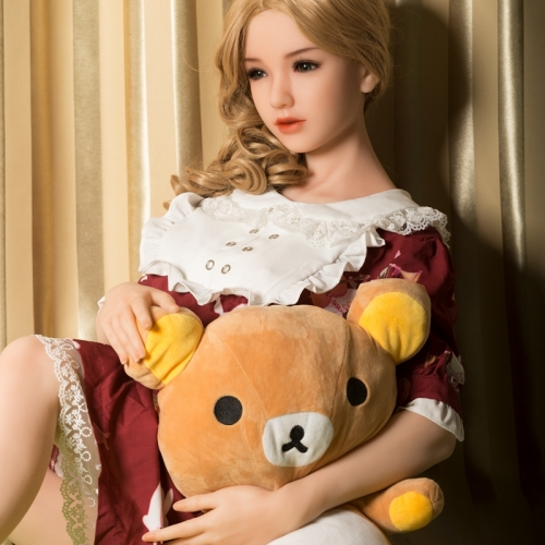 160cm Sanhui Doll 5FT2 Platinum Silicone Sex Dolls Austin