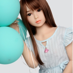 100cm AXB Cute Flat Breast Sex Doll Felicia