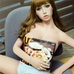 160cm Z-one Platinum Silicone Sex Dolls Blanche