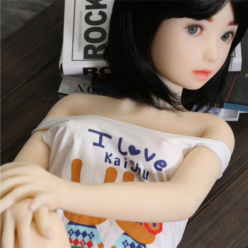 128cm IRONTech doll TPE doll Flat chest Sex Dolls Tina
