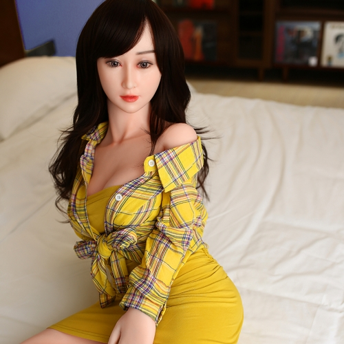155cm IMDoll Platinum Silicone hot Sex Doll April