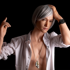 160cm Sinodoll platinum silicone hot male sex doll Mike